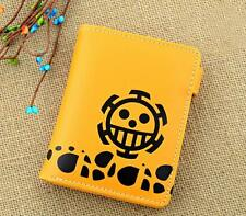 Neu Anime Manga One Piece Trafalgar Law Geldbörse Wallet Geldbeutel 004