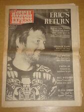 NME 1974 APR 20 ERIC CLAPTON FACES BOWIE ROD STEWART