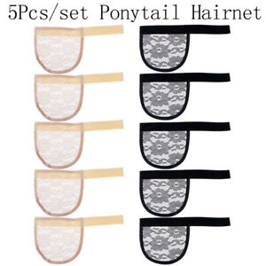 5X Hair Net Making Ponytail Hairnet Adjustable Weaving Cap Glueless Wig Cap F_jx