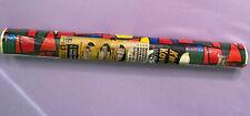 Vintage Real 70s Pop Art Inspired Retro Kwik Kover Self Adhesive Contact Paper
