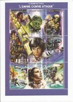 Togo 1997 Star Wars: Empire Strikes Back 9 Stamp Sheet Scott 1850 20H-971