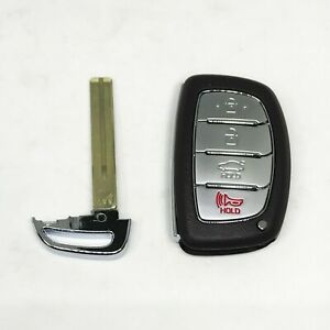 Smart Key Remote Control Blanking for 2015 2017 Hyundai Sonata and Turbo