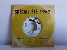 YVES JOSSELIN Vivre HC 3 7 67 PROMO Spécial été 1967 MONO FACE