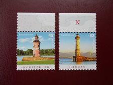 Germany 2015 Lighthouse Set MNH Moritzburg Lindau