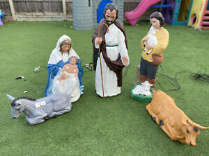 christmas nativity set Blow Mold