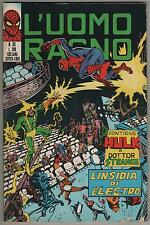 L' UOMO RAGNO corno N.83 L' INSIDIA DI ELECTRO 1973 the hulk dottor dr. strange