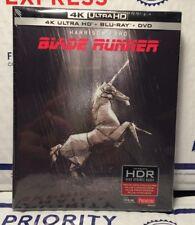 New Blade Runner 4K Ultra Hd+Blu-Ray+Dvd 72 Page Digibook! French+Region Free!