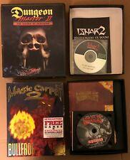 PC Games Big Box Dungeon Master 2 + ISHAR 2  + Lords of Midnight + MC2 - READ AD