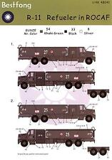Best Fong Decals 1/48 R-11 REFUELING TRUCK in Chinese Service