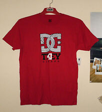 DC Shoes Trey Canard T-Shirt Herren Tee Rot Athletic Red STACKED Etnies L Honda