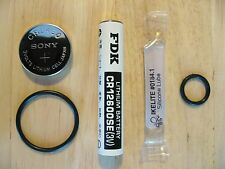 Battery Kit: Scubapro Galileo Sol, Luna Dive Computer & Trans Complete NEW