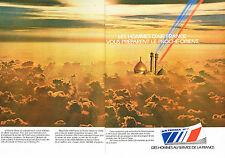 PUBLICITE ADVERTISING   1979   AIR FRANCE    le Proche-Orient ( 2 pages)