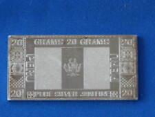 The Silver Mint Peru .999 Silver 20 Gram Ingot B0272