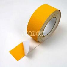 "3"" Yellow Anti Slip Tape Grip Adhesive Sticky Backed Non Slip Safety Flooring"