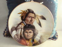 BLACKFOOT NATION PLATE AMERICAN HERTIAGE COA-1987 #BLACKFOOTNATION, LTD ED-0703I