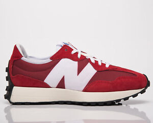 New Balance 327 Men's Scarlet Team Red Lifestyle Sneakers Athletic Casual Shoes