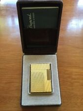 DUPONT LIGHTER LIGNE 1 MADE IN FRANCE - BOX AND PAPERS