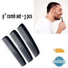 3 PCS Set Salon Dressing Comb Double Set Narrow Fine Teeth Hair Comb