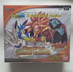 🔥SALE🔥 Dragon Ball Super Rise of the Unison Warrior Sealed Booster Box (X 1)