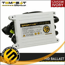 Sportiva HID 55W Ivory AC Quick Start, EMI filter, DSP Replacement Ballast -2pcs
