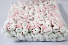 20pcs bulk 7.5cm mini rabbit bunny plush toy dolls stuffed wedding decor gift