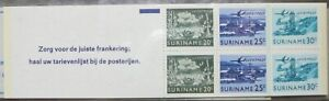 Suriname stamps booklet - Surinamese images_9 - MNH.