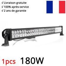 180W Barre LED Rampe Light bar phare de travail 12V 24V SUV ATV 4x4 Offroad