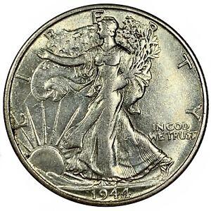 1944-S United States Silver Walking Liberty Half Dollar - XF