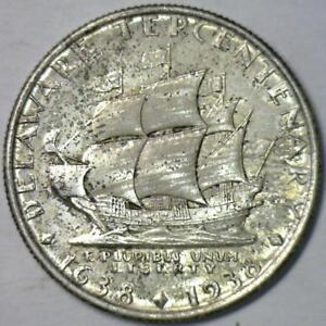 1936 Delaware Commemorative Half Dollar; Gem Unc.