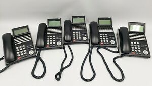 NEC SV8100 Digital PBX with 5 x 24 button handsets
