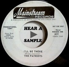The Patriots  The Prophet / I'll Be There  MAINSTREAM promo 1965 rock  45  HEAR!