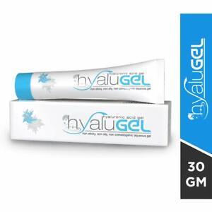 Hyalugel Hyaluronic Acid Gel for Oily & Acne Prone Skin 30 gm Free shipping