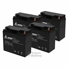 4 Pack - 12V 20Ah Baoshi 6-DZM-20 6DZM20 Scooter Bike Sealed Battery