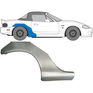 Mazda MX-5 NB 1998-2005 Hinten Kotflügel Reparaturblech / Rechts