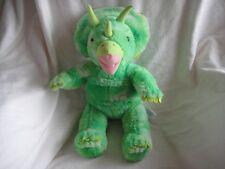 fb536b14e9d Build a Bear Dinosaur BAB Triceratops Green 18