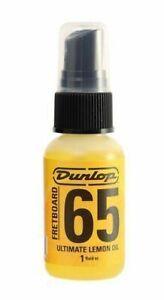 DUNLOP 65 LEMON OIL 6551J FRETBOARD pulizia / protezione della tastiera chitarra
