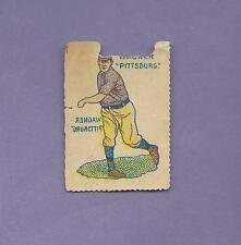 AUTHENTIC HONUS WAGNER HOF PIRATES CARD; 1909 GERMAN STAMPS SCARCE *T206 SUBJECT