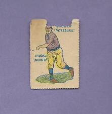⚾ HONUS WAGNER 🔥 HOF PIRATES 1909 GERMAN BASEBALL STAMPS ❤ RARE CARD ISSUE
