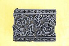 Pottery Stamp Indian Wood Stamp Textile Stamp Wood Blocks Floral Stamps wooden