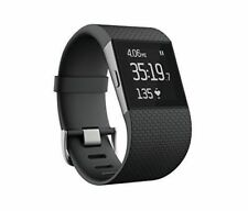 Fitbit Surge Fitness Superwatch Activity Tracker, HeartRate Monitor - Large, Blk