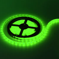 3528 LED Strip Green Light 5M 300 LEDS SMD 60 LED/M IP65 Waterproof 12V DC Auto