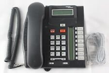 Lot of 10 Nortel T7208 Charcoal Digital Display Business Office Phones (NT8B26)