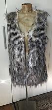 Ladies Faux Fur Vest - Size 10 To 12 M/L