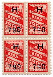 (I.B) US Cinderella : Trading Stamp 10c (Red Bird)