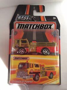 Matchbox 1975 Mack CF Pumper