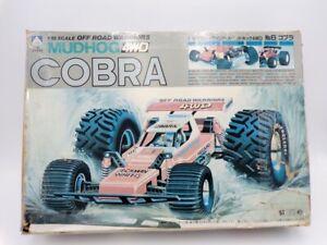 Vintage Aoshima Japan 1/18 Off Road 4WD Mudhog Cobra Buggy Kit Tamiya Kyosho