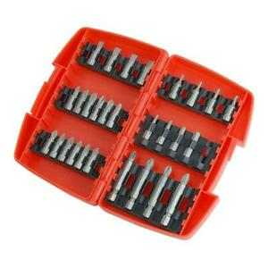 29pc Screwdriver Drill Driver Bit Set - Flat / Star / Hex / Pozidriv & Phillips