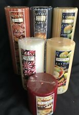 YANKEE CANDLE PILLAR - RETIRED SCENTS / LABELS - YOU CHOOSE