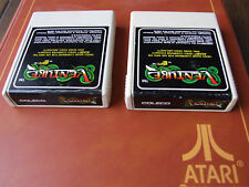 ATARI 2600 CARTRIDGE REGION FREE OFFERS/COMBINE - COLECO - VENTURE 1982 WHITE A