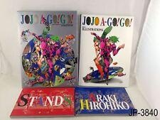 Jojo A Go Go Jojo's Japanese Artbook Art Book Bizarre Adventure Japan US Seller